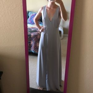 Tobi NWOT long wrap dress